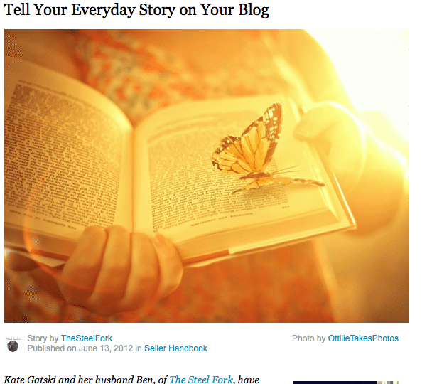 Tell Your Everyday Story, Or not?
