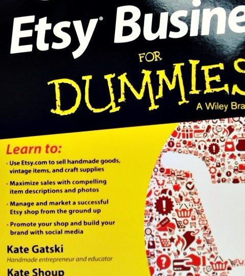 Kate co-authored Starting an Etsy Business