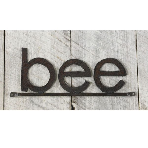 Bee Sign at 600 Wide