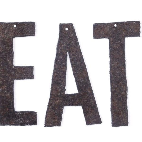 Capital Eat letters