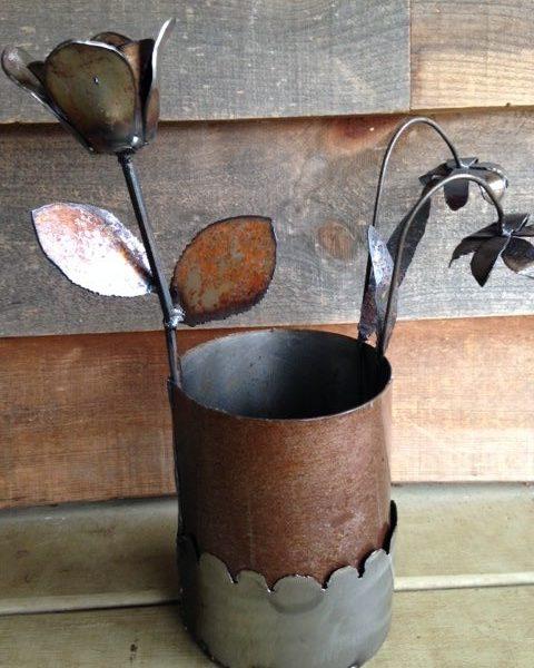 2 Stems in Vase
