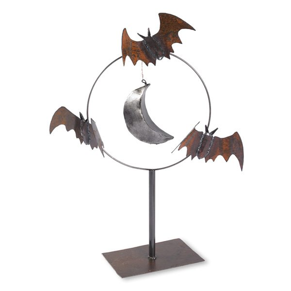 Bat Sculpture Square
