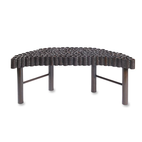 Crescent Moon Bench Square