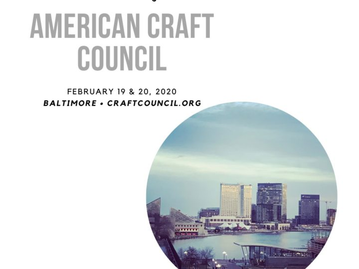 American Craft Council Wholesale Days in Baltimore