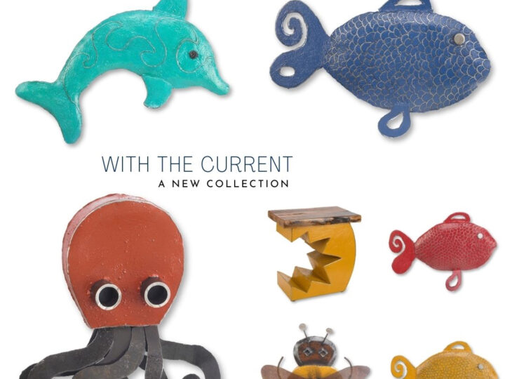 New Spring Collection – With the Current