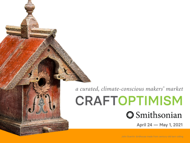 Honored to Participate in Smithsonian Craft Optimism